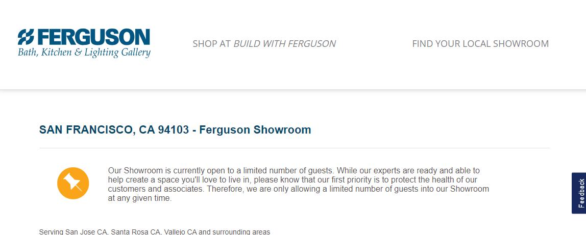 Ferguson Bath, Kitchen