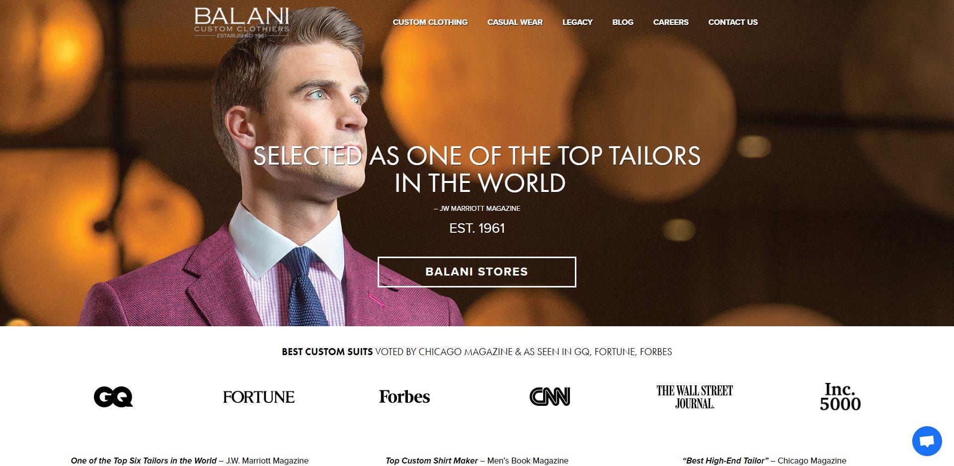 Chicago Best Suit Shops