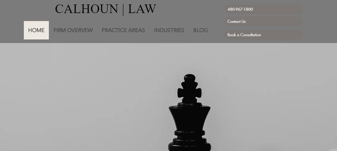 The Calhoun Law Firm, PLC