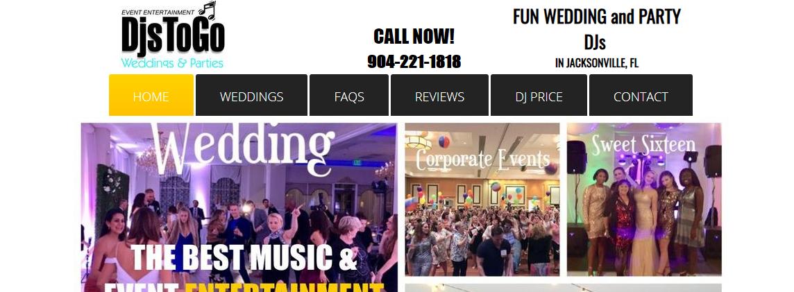 DJsToGO Wedding and Party Pros