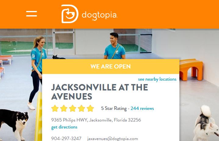 Dogtopia Jacksonville