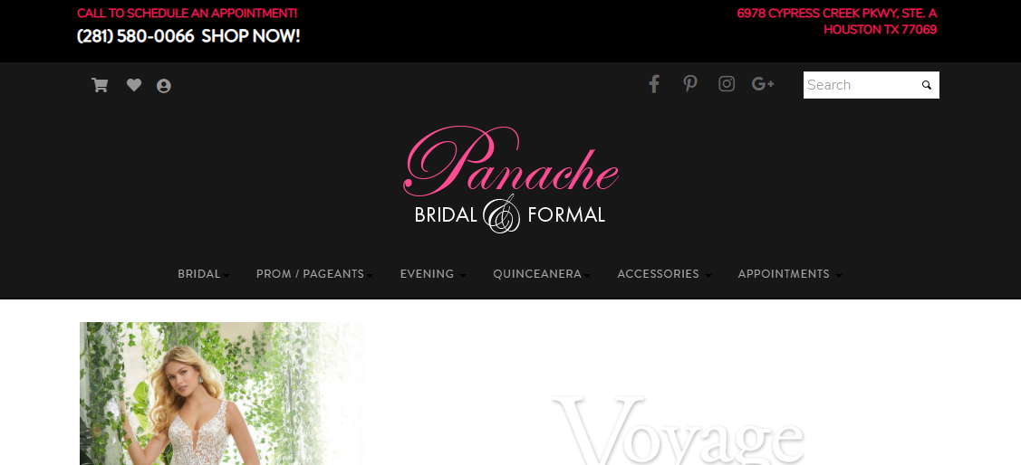 Panache Bridal and Formal