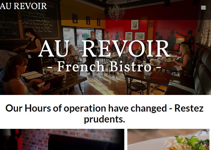 Au Revoir French Bistro