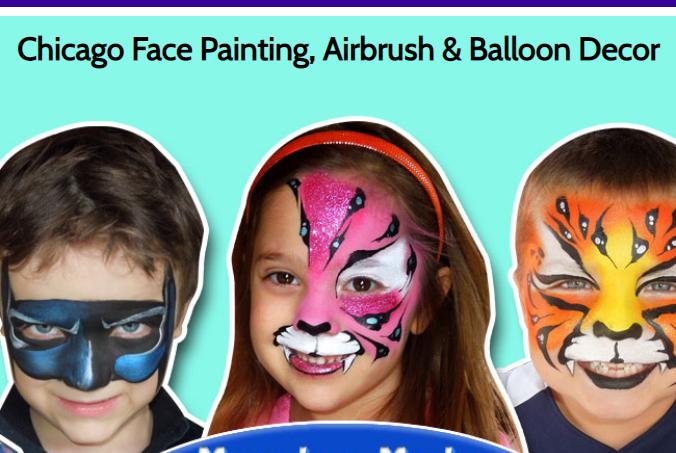 Marvelous Masks Face Painting