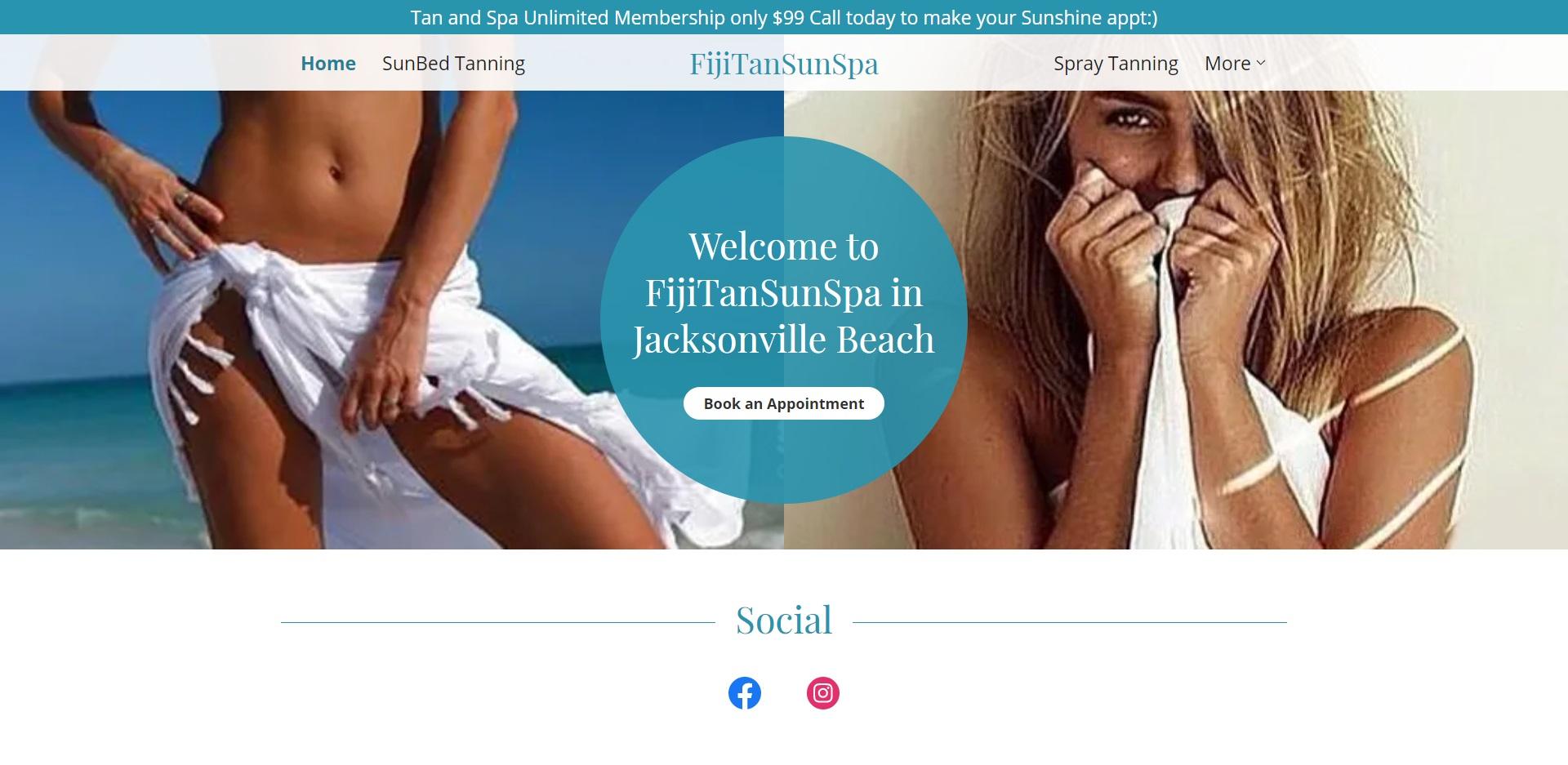 Jacksonville Best Tanning Salons