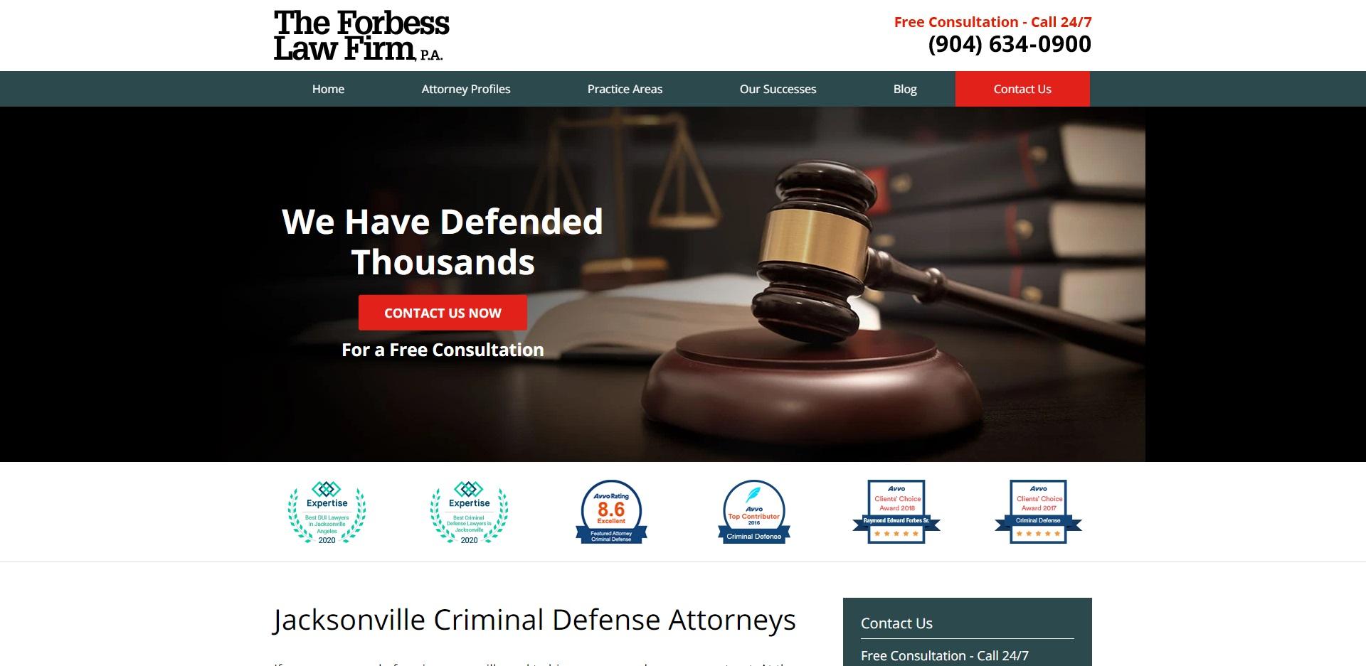 Jacksonville's Best Criminal Attorneys