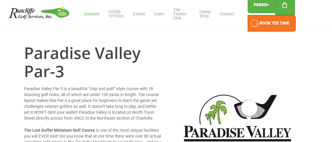 Paradise Valley Par 3