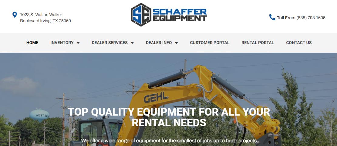 Schaffer Equipment