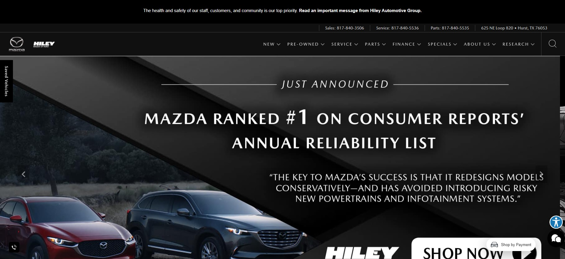 Best Mazda Dealers in Fort Worth