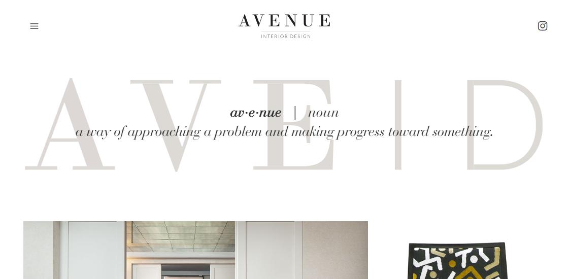 Avenue Interior Design