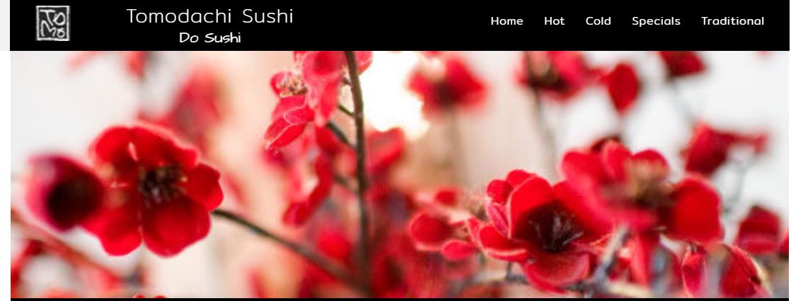 Tomodachi Sushi