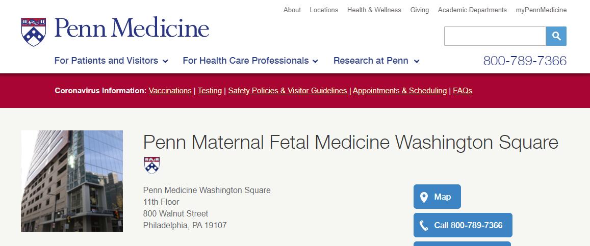 Penn Maternal-Fetal Medicine