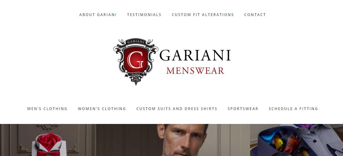 Gariani Menswear