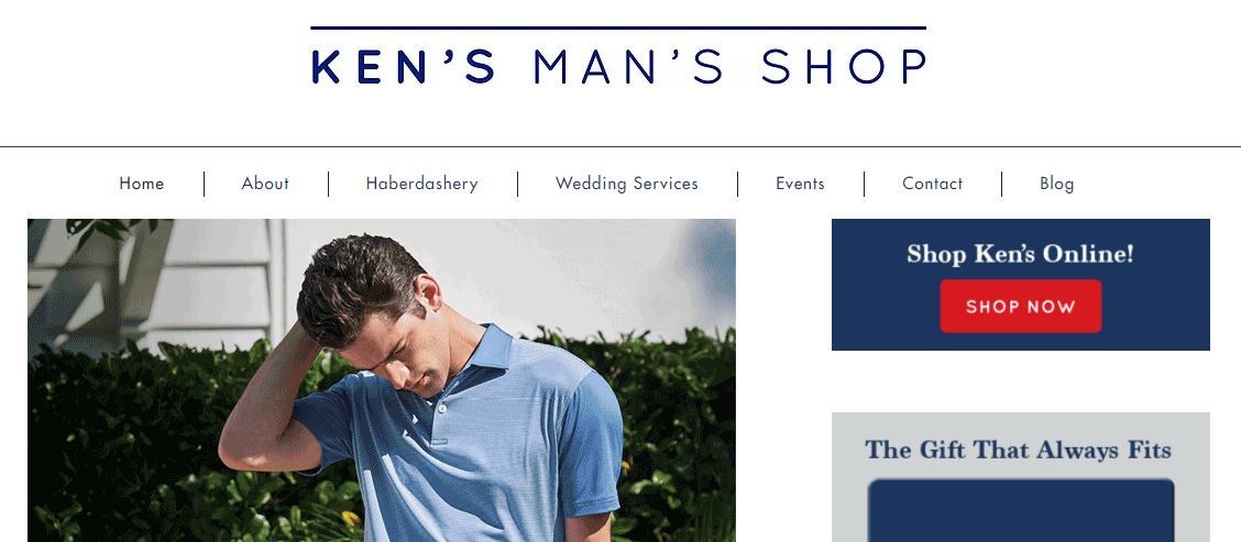 Ken's Man's Shop