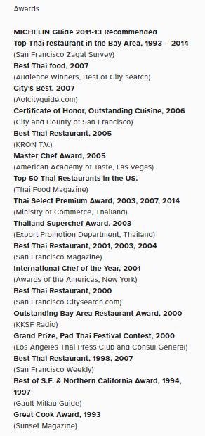 5 besten thailändischen Restaurants in San Francisco hinzufügen 1
