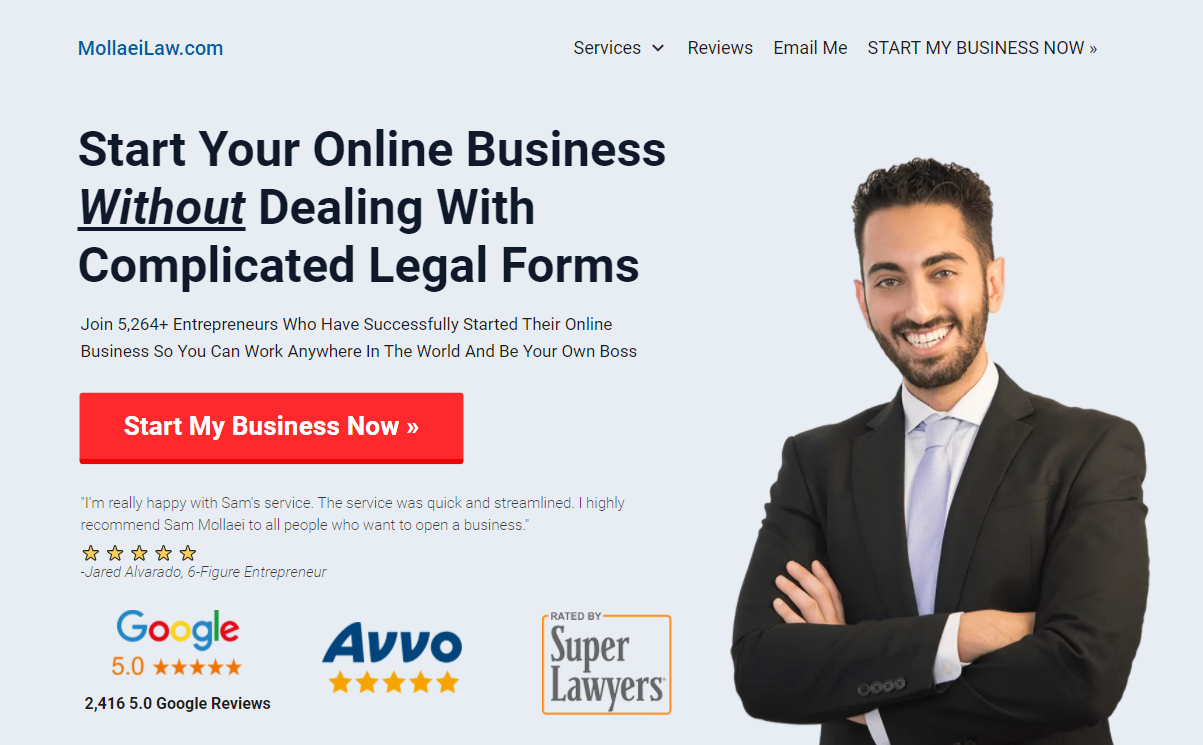 los angeles best contract attorney