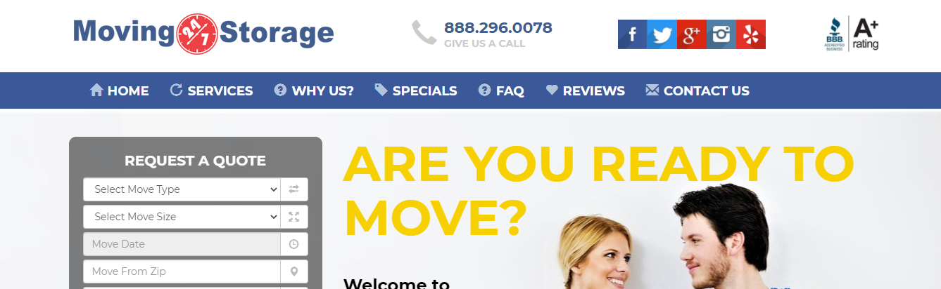 best moving companies in San Diego, CA