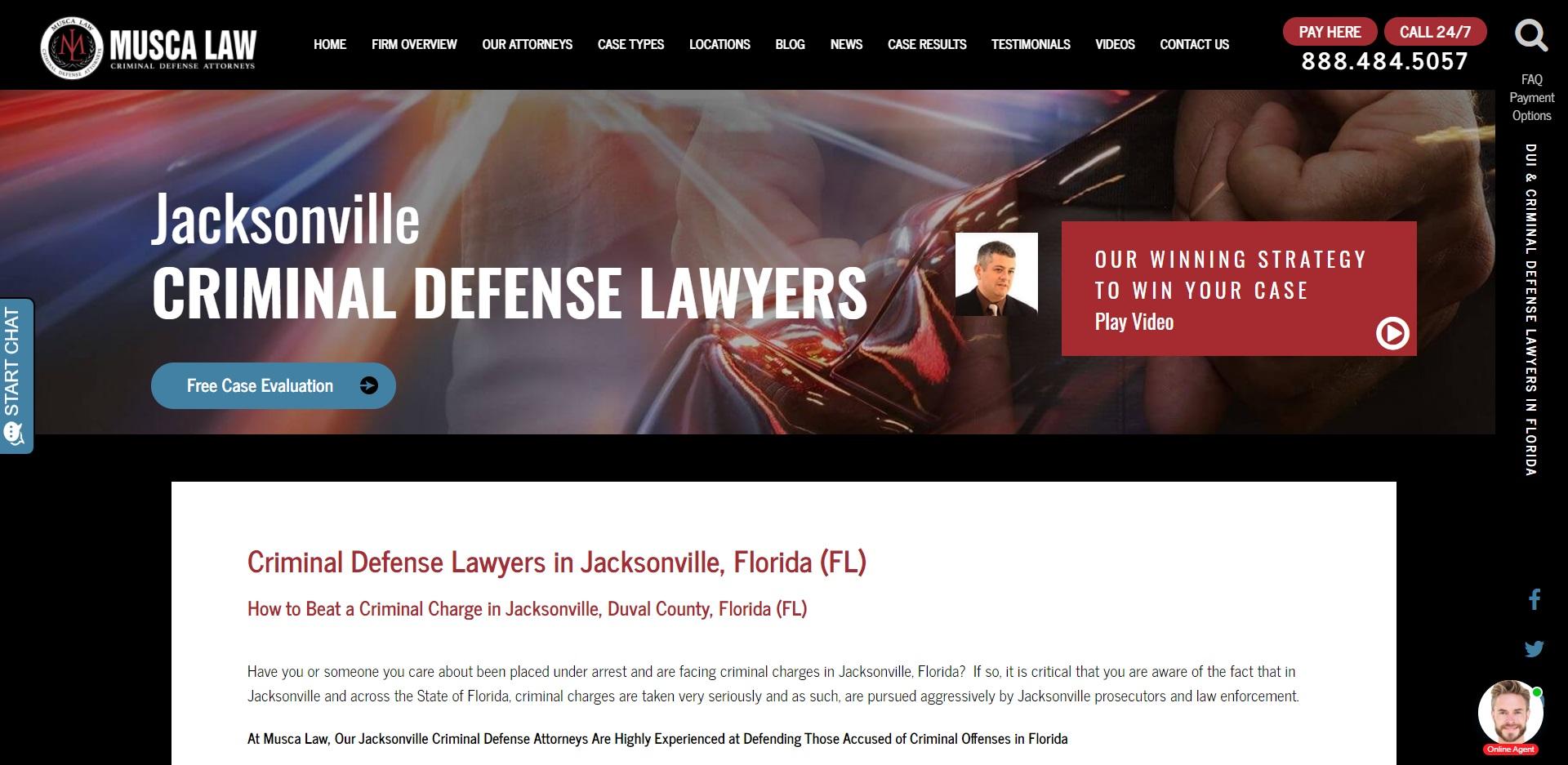 The Best Criminal Attorneys in Jacksonville