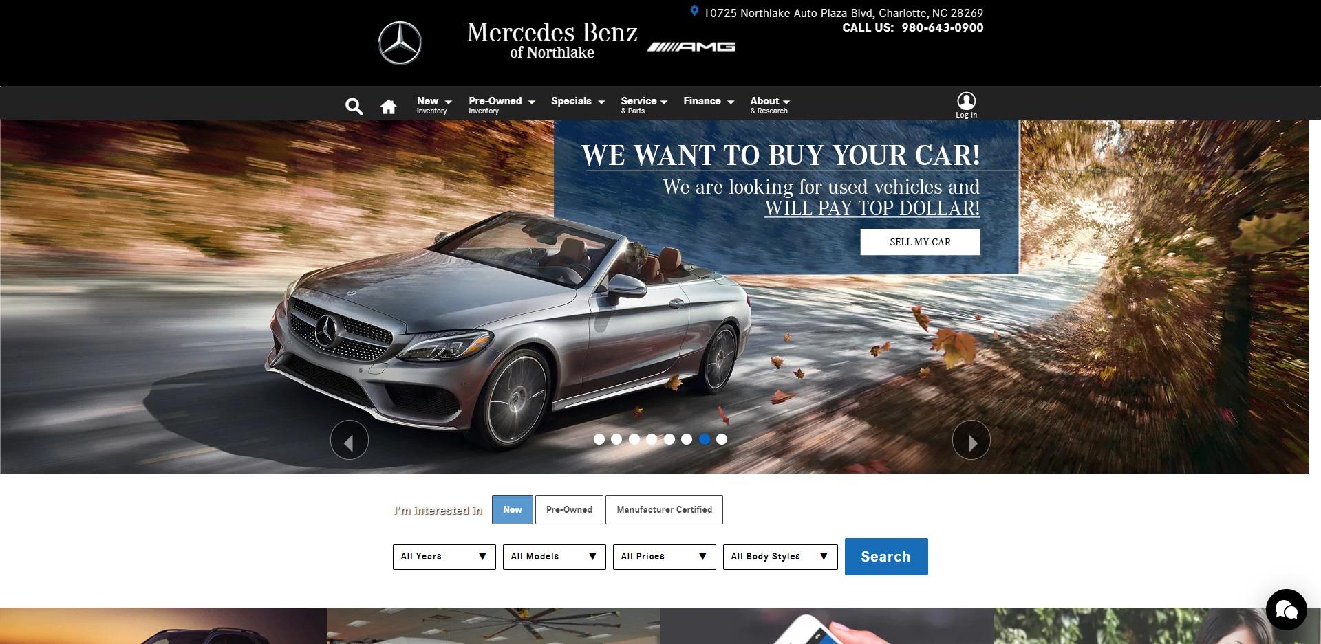 Best Mercedes Dealers in Charlotte