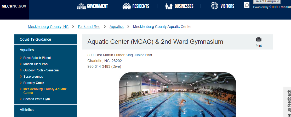5 Best Public Swimming Pools in Charlotte 1