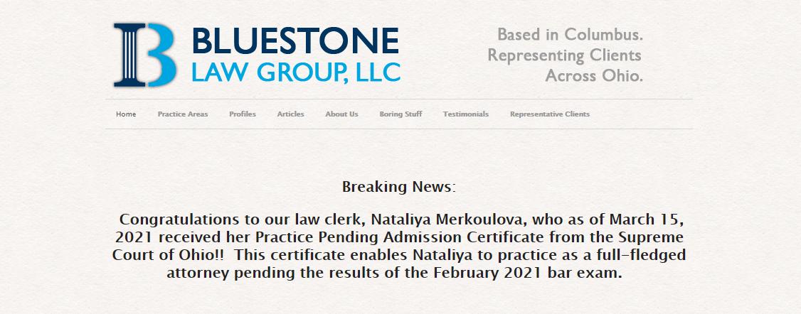 Bluestone Law Group, LLC