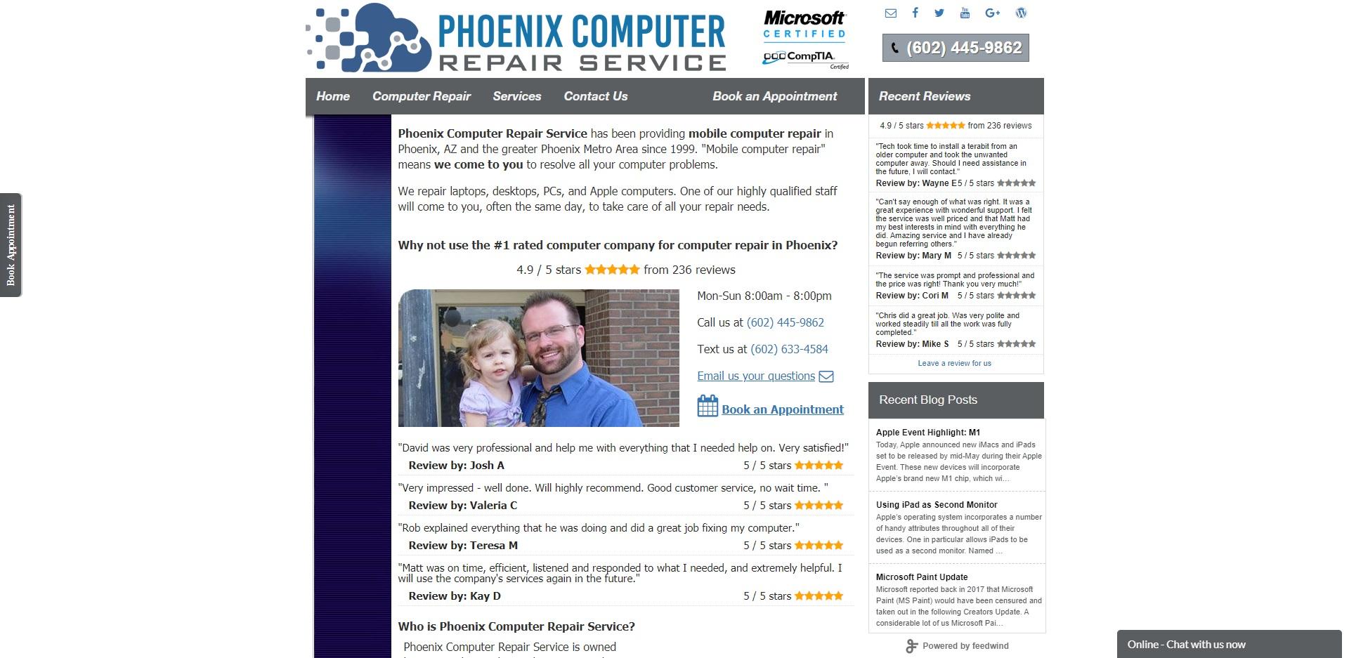 The Best Computer Repair in Phoenix