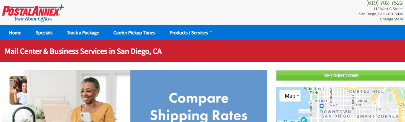 best shipping companies in San Diego, CA