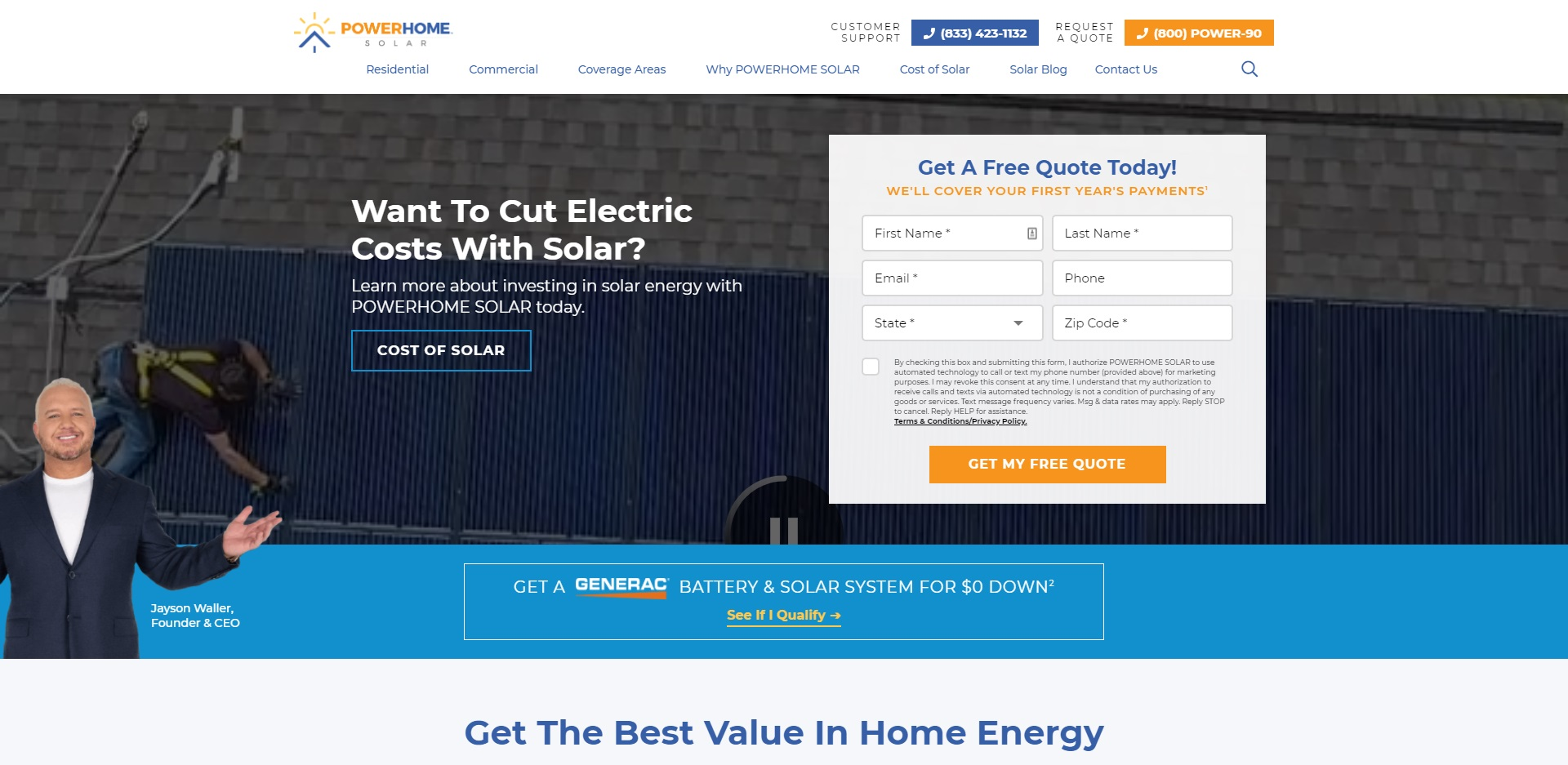 Best Solar Battery Installers in Indianapolis