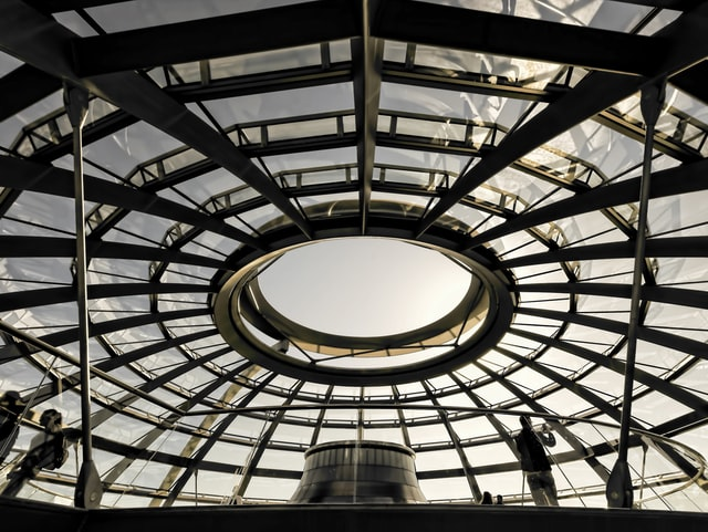 A round steel structure built by one of the best providers in the world.