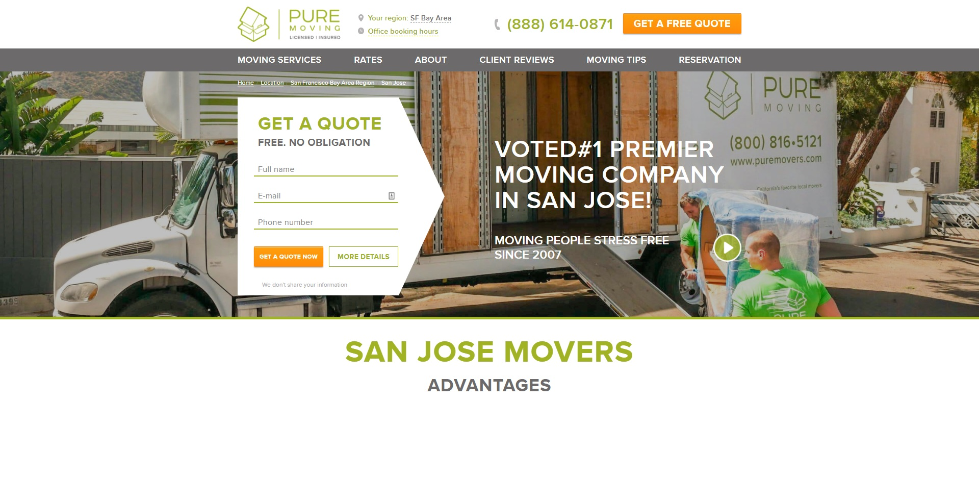 San Jose Best Removalists