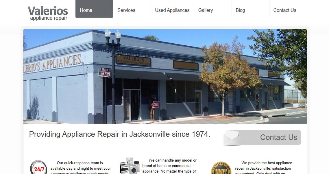 Valerios Appliance Repair Jacksonville