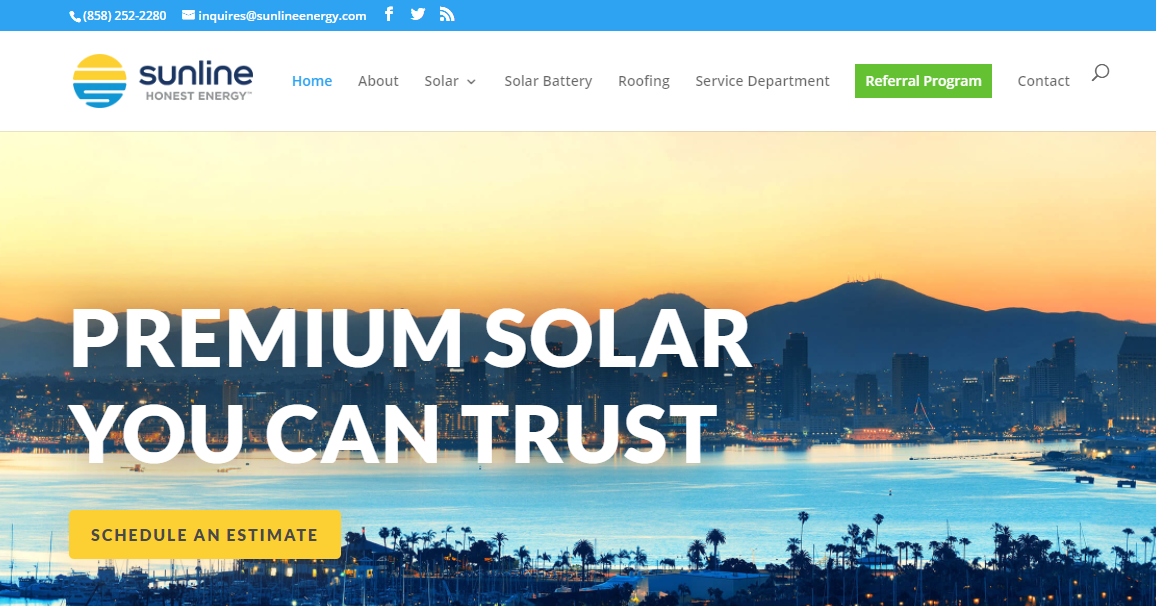 Electricity from Solar in San Diego
