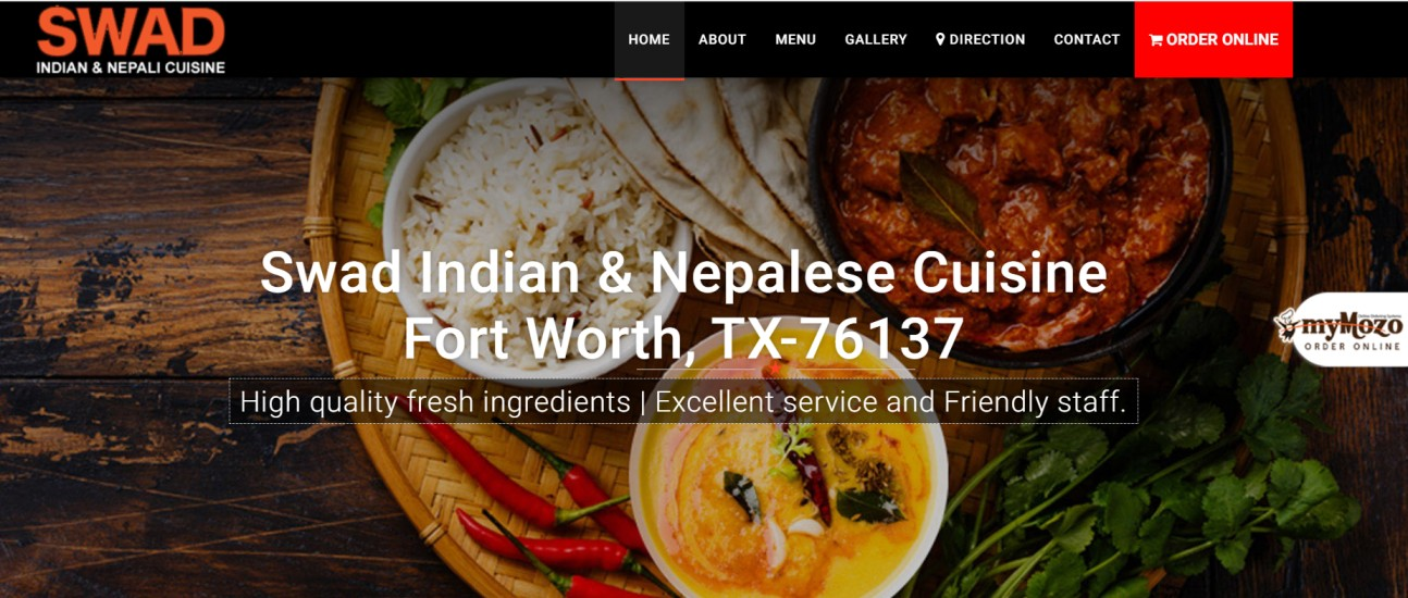 swad indian and nepali cuisine