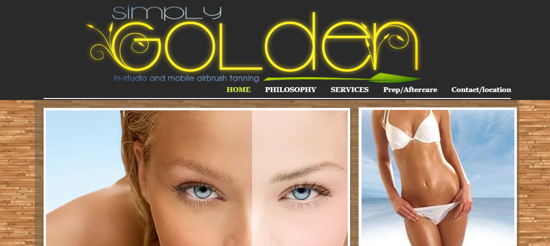 Simply Golden Airbrush Tanning