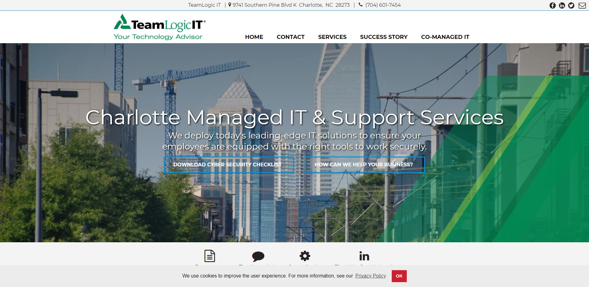 The Best IT Support in Charlotte