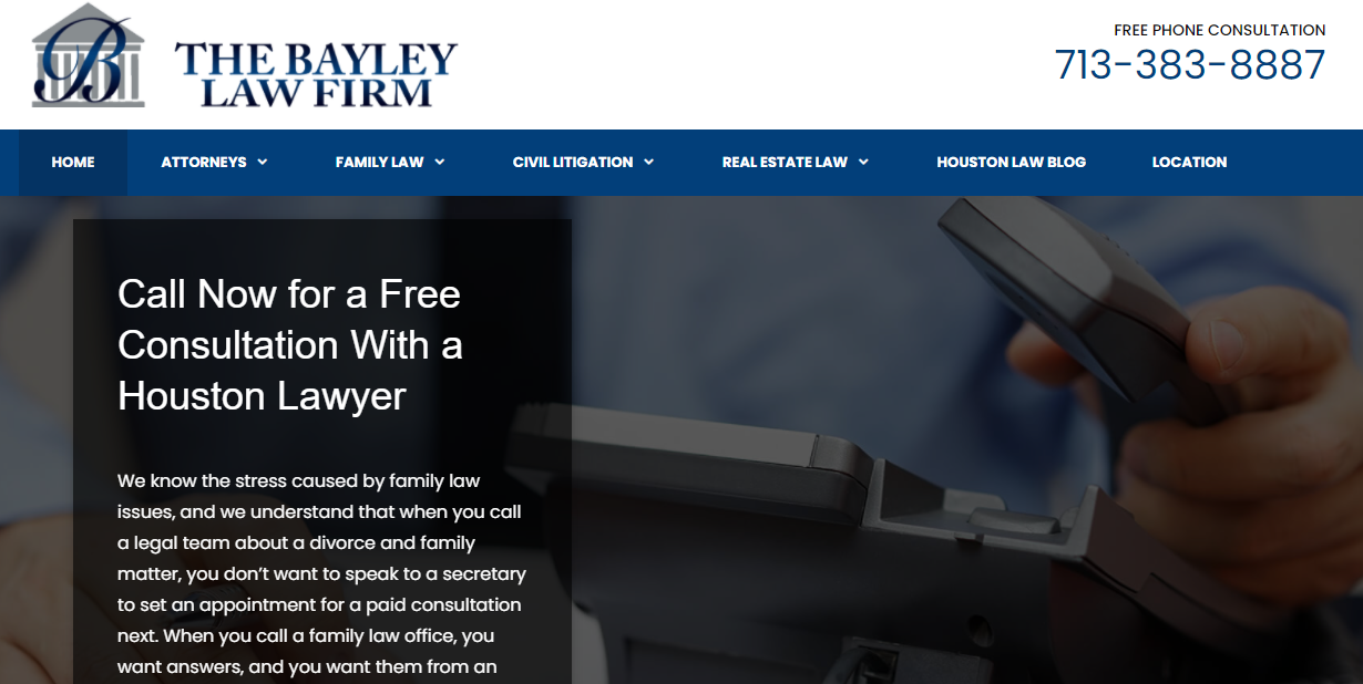 The Bayley Law Firm in Houston