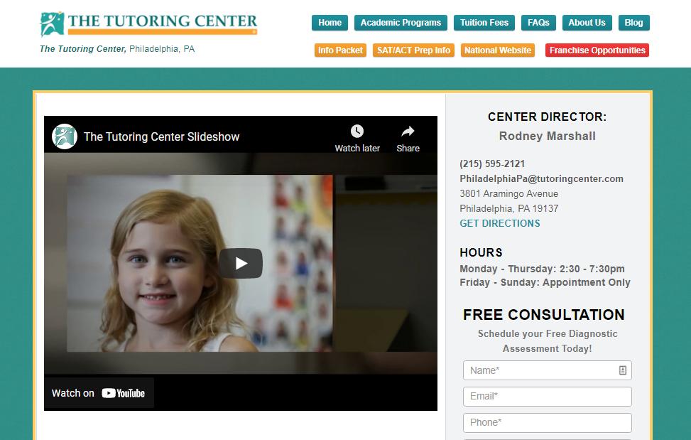 5 Best Tutoring Centers in Philadelphia one