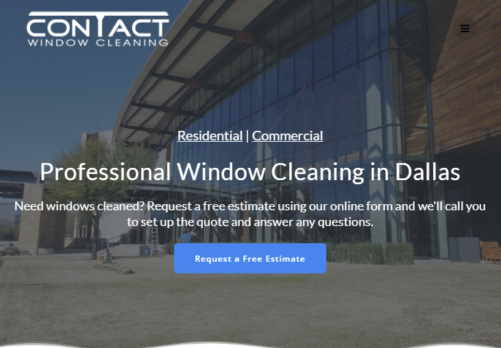 Contact Window Cleaning