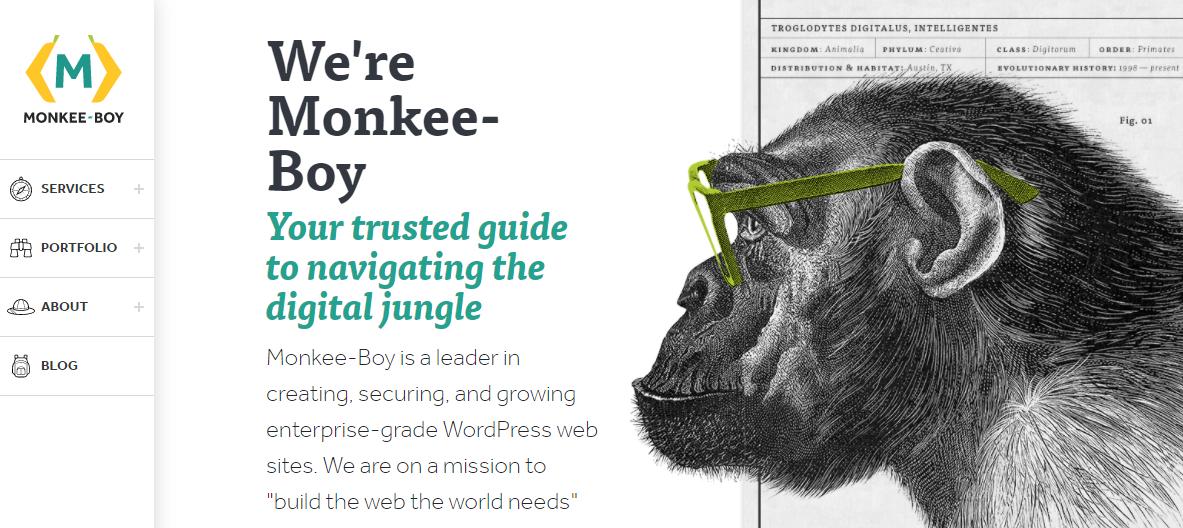 Monkee- Boy Web Design, Inc.