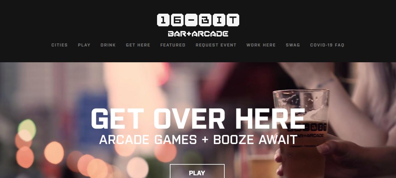 16-Bit Bar+Arcade in Columbus, OH