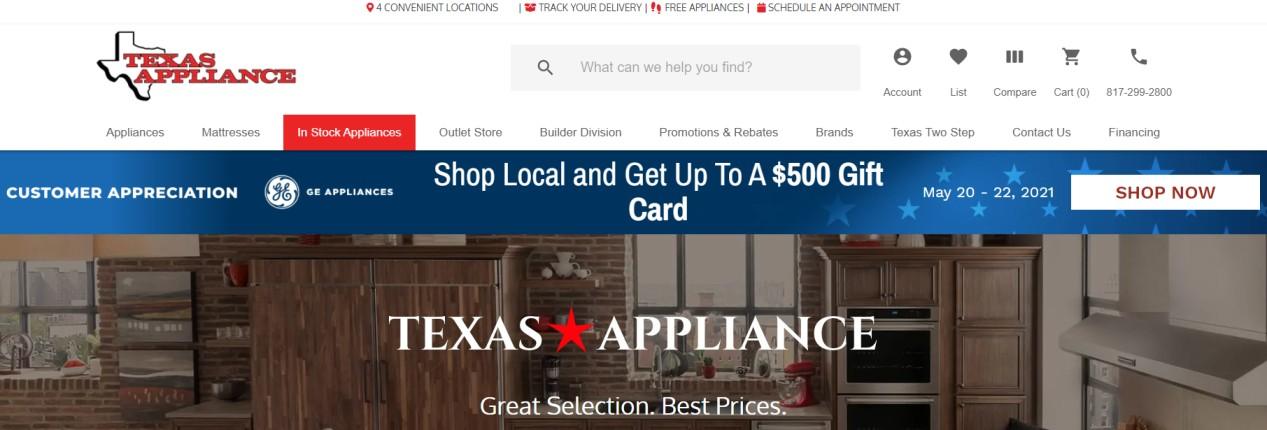 Best Refrigerator Stores in Fort Worth