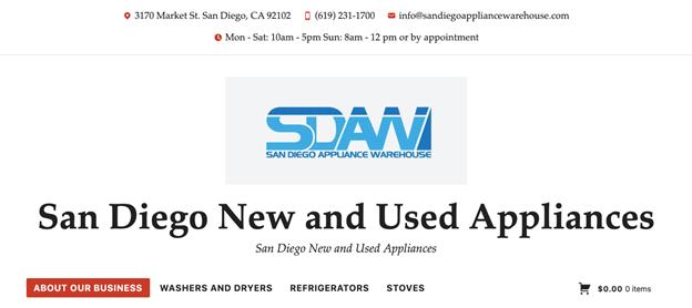 Best Refrigerator Stores in San Diego
