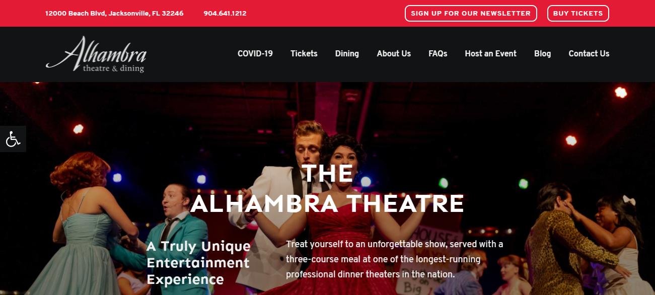 Alhambra Theatre & Dining in Jacksonville, FL