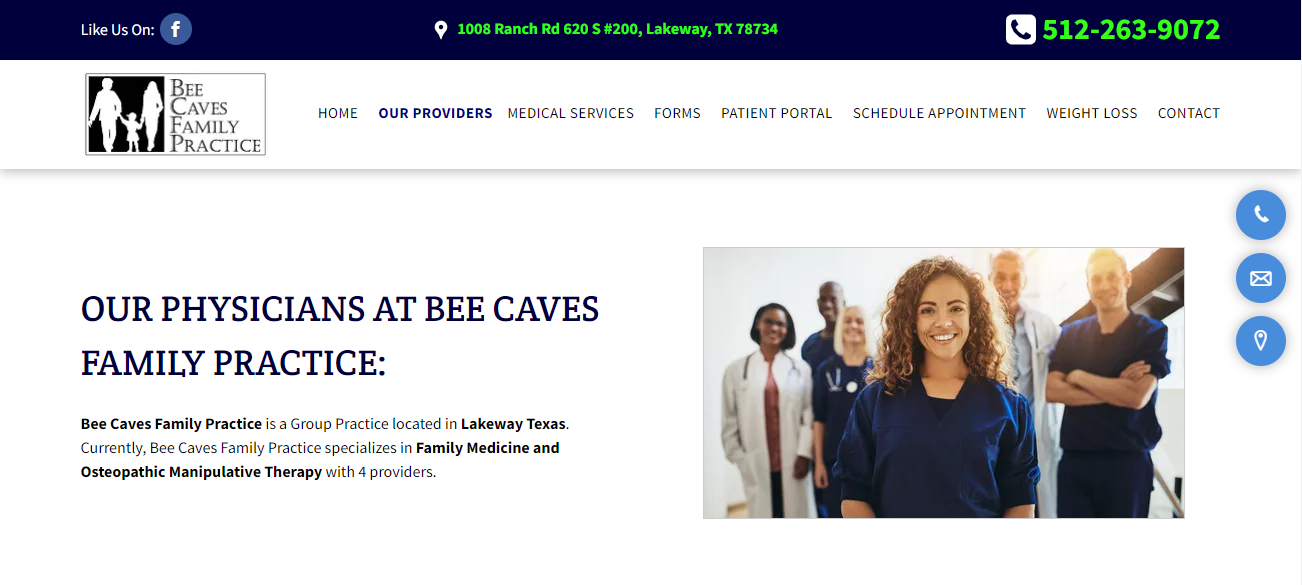 Bee Caves Family Practice in Austin, TX