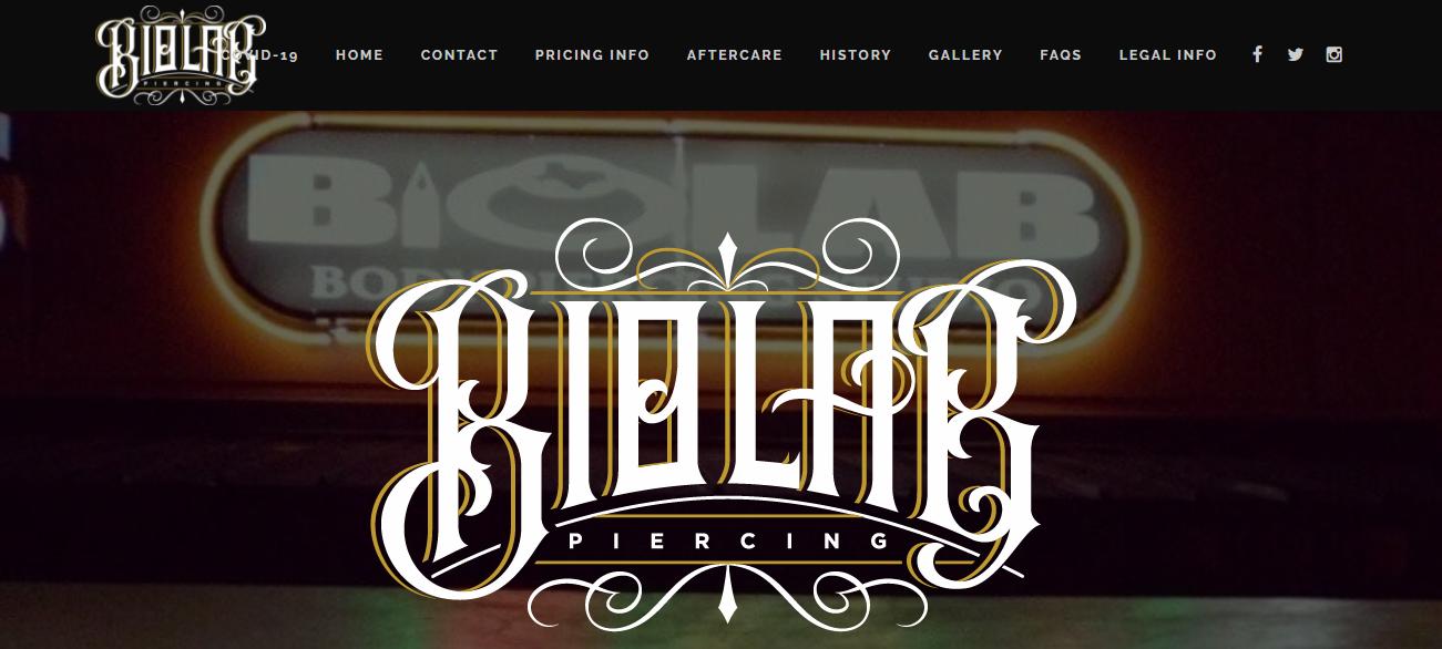 Biolab Piercing Studio in Houston, TX