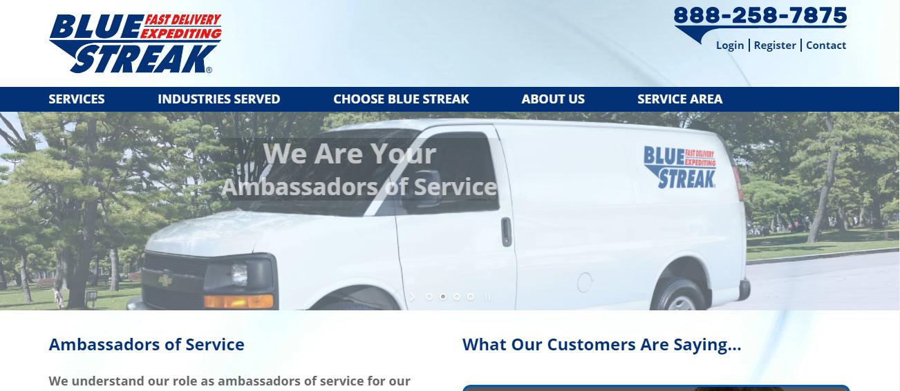 Blue Streak Couriers in Jacksonville, FL