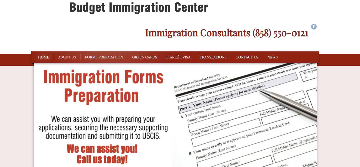 Budget Immigration Center