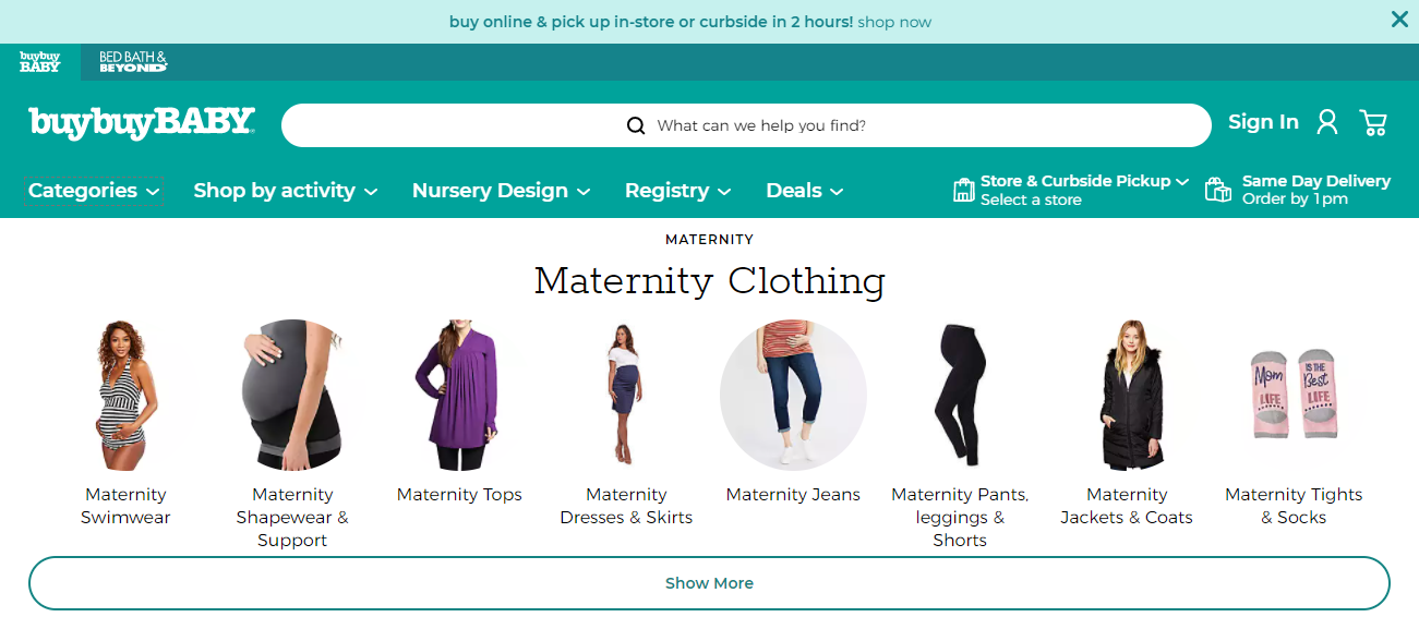 Buy Buy Baby in Indianapolis, Indiana