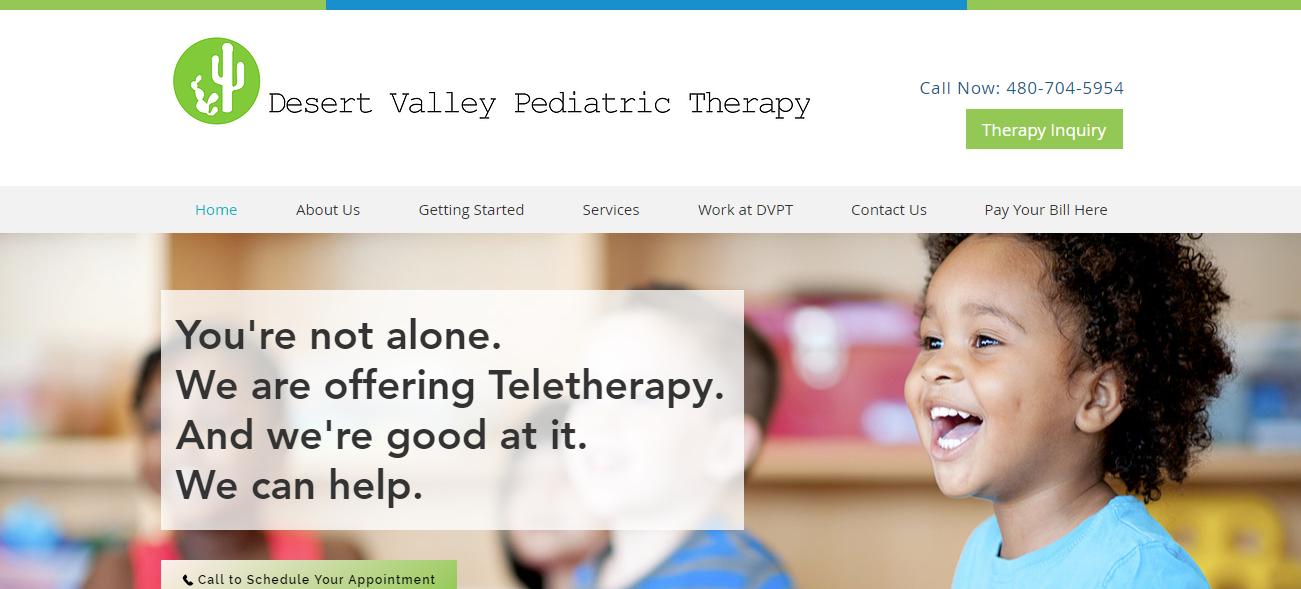 Desert Valley Pediatric Therapy in Phoenix, AZ