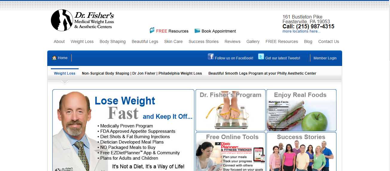 Dr. Fisher's Medical Weight Loss & Aesthetic Centers in Philadelphia, PA